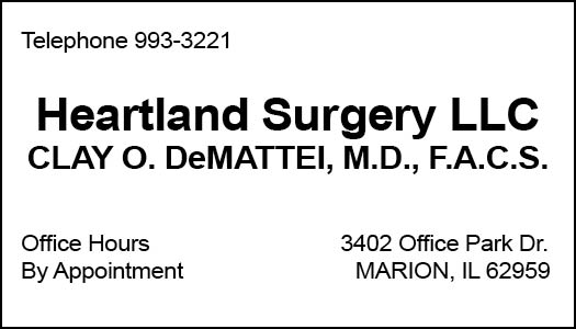 Heartland Surgery, LLC- Clay O. DeMattei, M.D.
